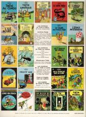 Verso de Tintin (Historique) -7C3- L'île noire