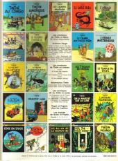 Verso de Tintin (Historique) -8C3- Le sceptre d'Ottokar