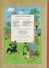 Verso de Tintin (Historique) -9B22- Le crabe aux pinces d'or