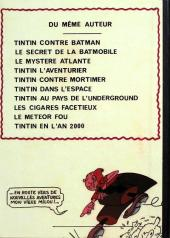 Verso de Tintin - Pastiches, parodies & pirates -a2008- Tintin contre Batman