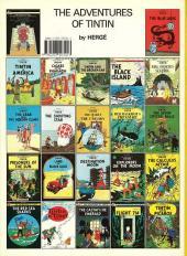 Verso de Tintin (The Adventures of) -12d1995- Red Rackham's Treasure