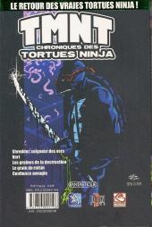 Verso de TMNT : chroniques des Tortues Ninja -1- Volume 1