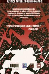 Verso de TMNT : chroniques des Tortues Ninja -2- Volume 2