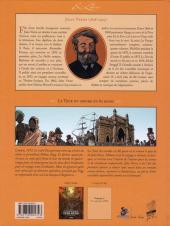 Verso de Le tour du monde en 80 jours (Soleilhac) -1- Volume 1