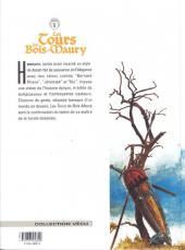 Verso de Les tours de Bois-Maury -8a1999- Le seldjouki