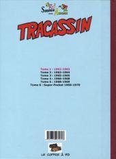 Verso de Tracassin -INT1- Tracassin - intégrale 1 : 1962-1963