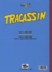 Verso de Tracassin -INT3- Tracassin - intégrale 3 : 1965-1966