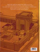 Verso de Le trésor du temple -2- Construire un temple
