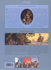 Verso de Les trois Mousquetaires (Morvan/Rubén) -3- Volume 3
