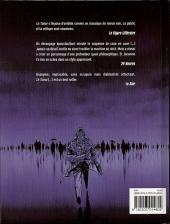 Verso de Le tueur -INT1- Premier cycle