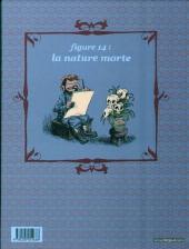 Verso de Une aventure rocambolesque de... -2- Vincent Van Gogh - La ligne de front
