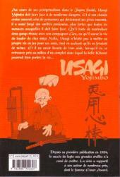 Verso de Usagi Yojimbo -16- Volume 16