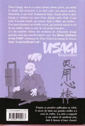 Verso de Usagi Yojimbo -17- Volume 17