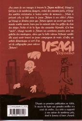 Verso de Usagi Yojimbo -18- Volume 18