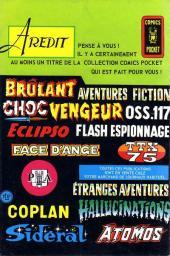 Verso de Vengeur (2e Série - Arédit - Comics Pocket) -9- L'antimatière