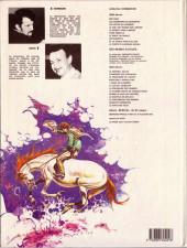 Verso de Comanche -10- Le corps d'Algernon Brown