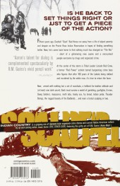 Verso de Scalped (2007) -INT01- Indian Country