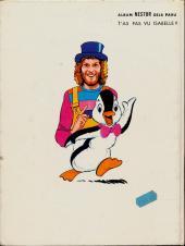 Verso de Nestor le pingouin (Les aventures de) -2- Nestor super-star