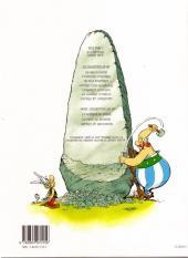 Verso de Astérix (Hors Série) -C02a- Astérix et la Surprise de César - L'Album du film