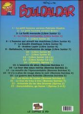 Verso de Bouldaldar et Colégram -4- La rivière enchantée (Libre Junior 2)