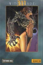 Verso de Witchblade (Éditions USA) -1- Witchblade tome 1