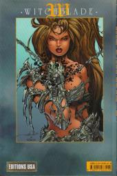 Verso de Witchblade (Éditions USA) -3- Witchblade tome 3
