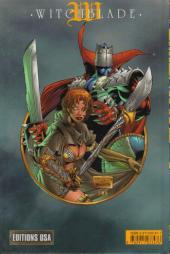 Verso de Witchblade (Éditions USA) -4- Witchblade tome 4