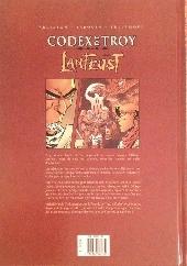 Verso de Lanfeust de Troy -HS6- Le codex de Troy