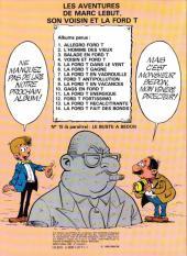Verso de Marc Lebut et son voisin -14- La Ford T fait des bonds