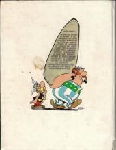 Verso de Astérix -8b1972- Astérix chez les Bretons