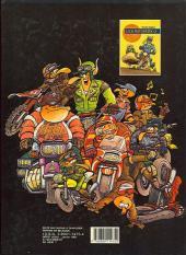 Verso de Les motards -2- Et les motards, mon cher Watson...