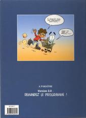 Verso de Léo et Reboot -1- Lâche-moi la souris !