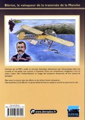 Verso de Blériot - Le vainqueur de la traversée de la Manche