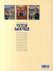 Verso de Victor Sackville -INT5- L'intégrale - volume 5