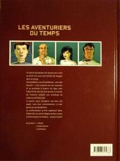 Verso de Les aventuriers du temps -3- Intrigues