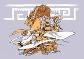 Verso de Atalante - La Légende -4TT- L'envol des boréades