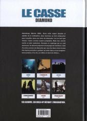 Verso de Le casse -1- Diamond - Askashaya, Sibérie 2009...