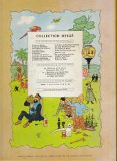 Verso de Tintin (Historique) -13B30- Les 7 boules de cristal