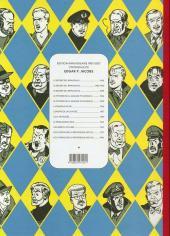 Verso de Blake et Mortimer (Les Aventures de) -4Soir- Le Mystère de la Grande Pyramide - Tome I - Le Papyrus de Manethon