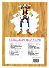 Verso de Lucky Luke -12e08- Les cousins Dalton