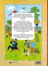 Verso de Tintin (en langues étrangères) -7Tchèque- Černý ostrov