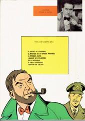 Verso de Blake et Mortimer (Historique) -1b70'- Le Secret de l'Espadon - Tome I - La Poursuite fantastique