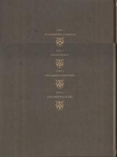 Verso de Le seigneur d'ombre -INT- Intégrale tome 1 à 4