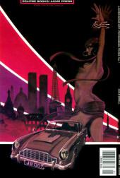 Verso de James Bond: Permission To Die (Eclipse - 1989) -1- Book one