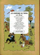 Verso de Tintin (Historique) -2B04- Tintin au Congo