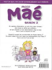 Verso de Maé -2- Saison 2