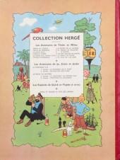 Verso de Tintin (Historique) -3B07- Tintin en Amérique
