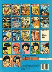 Verso de Yoko Tsuno -15- Le canon de Kra