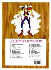 Verso de Lucky Luke -9e07- Des rails sur la prairie