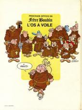 Verso de Frère Boudin -1- Le tibia sacré